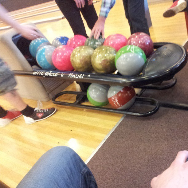 colorful! #bowling #fuckingawesome