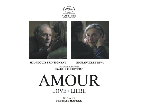 #438 - Amour (2012, France) 7 / 10 Love, Michael Haneke style.