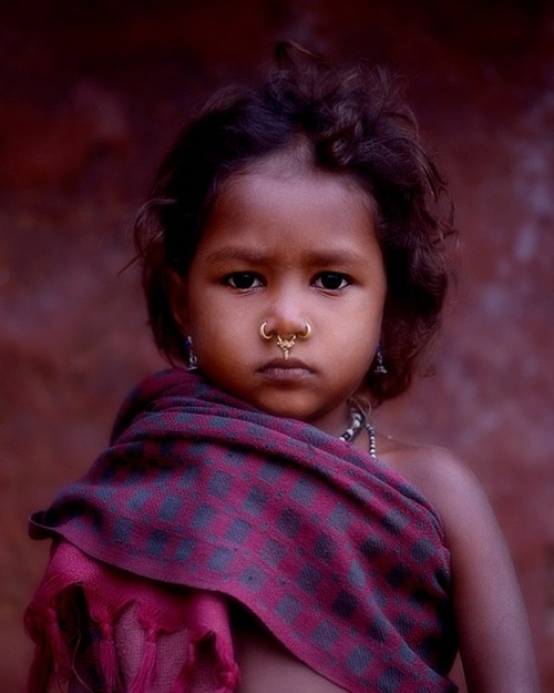 protectedharbor:  Young village girl, Odisha, India [queue]
