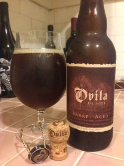 Sierra Nevada's Ovila Dubbel (Picked up at Beer Revolution). A 2 of 4. Solid, but no wow factor here. Quite sweet for a dubbel - not sure if it is from the malt or a bit of wine-ness creeping in. Good roasted notes and some dark candy notes as well. A bit boozy tasting, and too sweet for me. Not terrible, but there are so many better Dubbels out there.