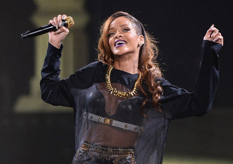 "Rihanna continues to dominate the charts and awards shows. The pop princess has received 10 nominations at the 2013 Billboard Music Awards.  The ""Diamonds"" singer will compete in 10 categories this year, including Top Artist and Top Radio Songs Artist, it was announced today. She also becomes the first artist in the 20-year history of Billboard's Nielsen BDS-based Pop Songs radio airplay chart to land 10 No. 1s, as ""Stay"" rises 2-1. ""I owe this to my fans and to Billboard! Thank you for the love! It's pretty major!"" tweeted RiRi."