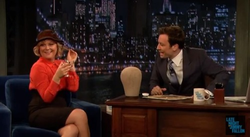 Can We Be Friends With Amy Poehler And Jimmy Fallon?  PLEASE?