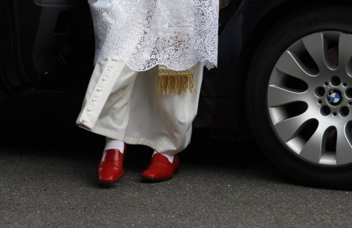Why the Pope Wears Red Shoes  (Photo: Getty Images)