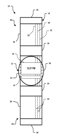 Google Watch Patent (via Here's our first look at Google's fancy new smartwatch design – no rumors this time | VentureBeat)