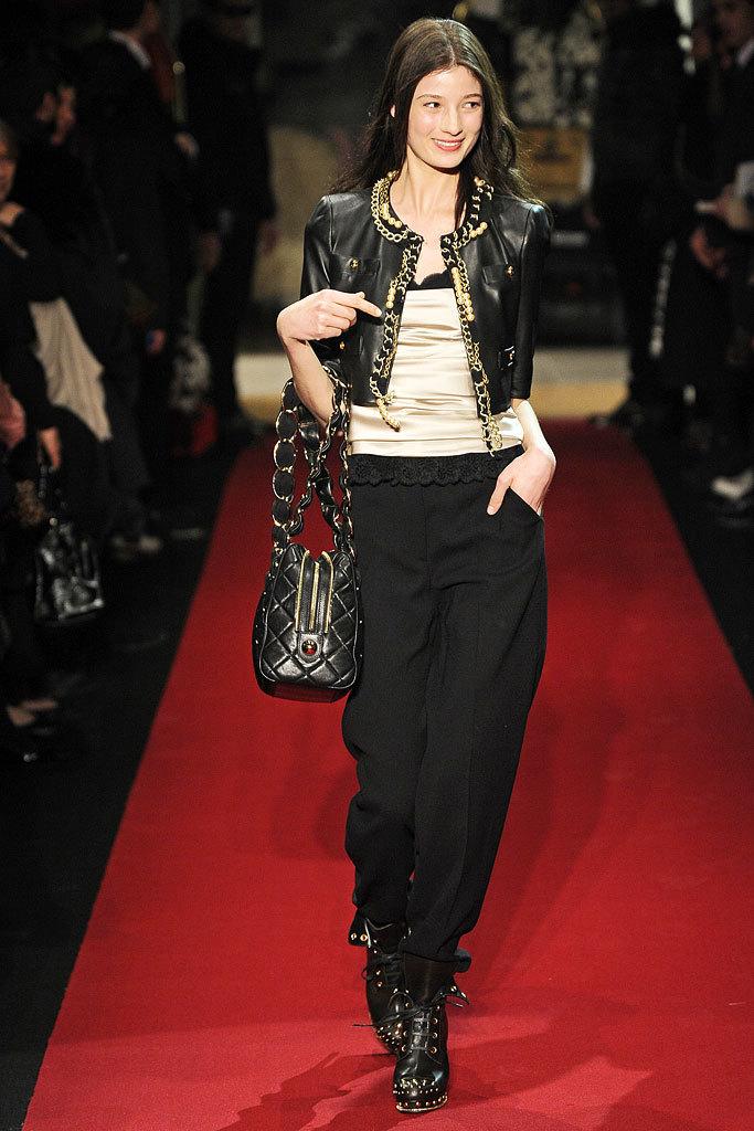 Debora Muller at Moschino Cheap & Chic, fall 2010