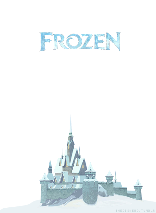 ▣ Frozen (2013) transparent castle