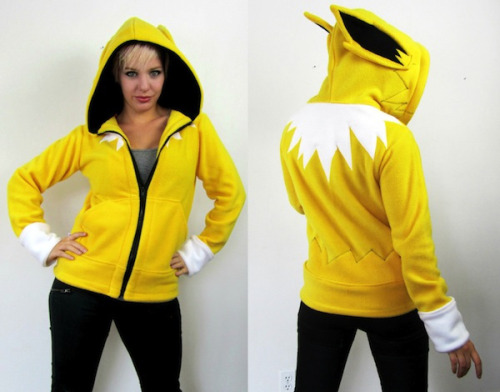 Awesome Etsy thing of the day: Pokemon hoodies Made by RaritysBoutique