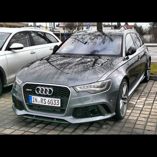 audidriven:  #2014RS6 - new #LoveAffair :-) | #Audi #RS6 #Avant #quattro image via #audiblogpl
