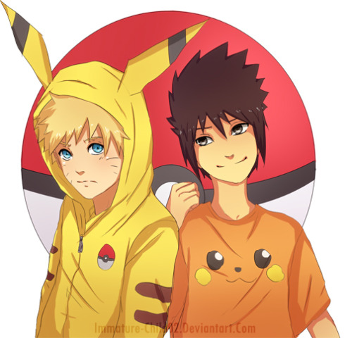 SO AWESOME!!! POKEMON NARUTO! ^^