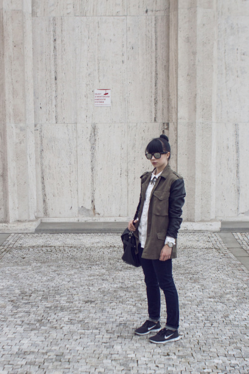 the-streetstyle:  Off Dutyvia dannyrosefashion