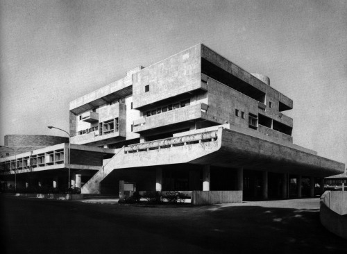 Kunio Mayekawa, Kanagawa Perfectural Youth Center, Yokohama, Japan, 1962