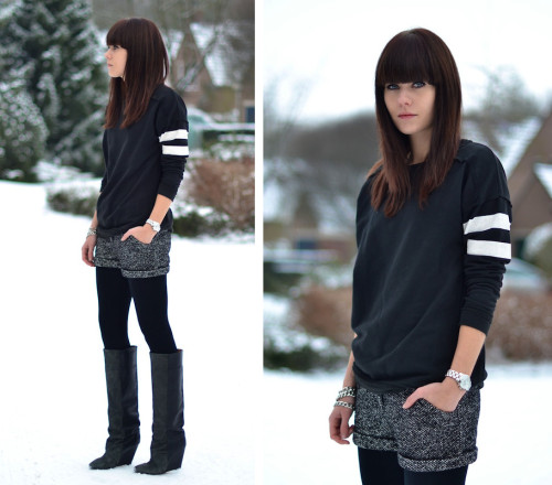 lookbookdotnu:  Winter shorts (by Lucy De B.)