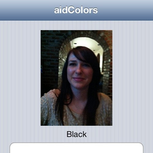 Being #colorblind the app is really helpful… And accurate lol (at SMOKE. on Cherry Street)
