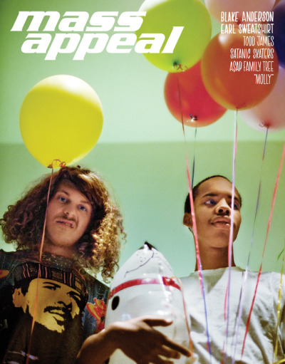 oddfuture:  Sagans First Cover For Mass Appeal With Blake And Sweatshirt