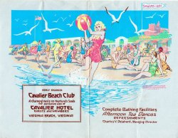 A look back to 1931 with the Cavalier Hotel!  Cool vintage advertisement.