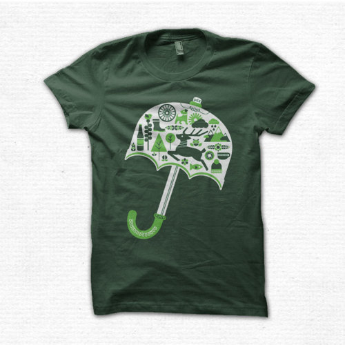 pdx umbrella tee