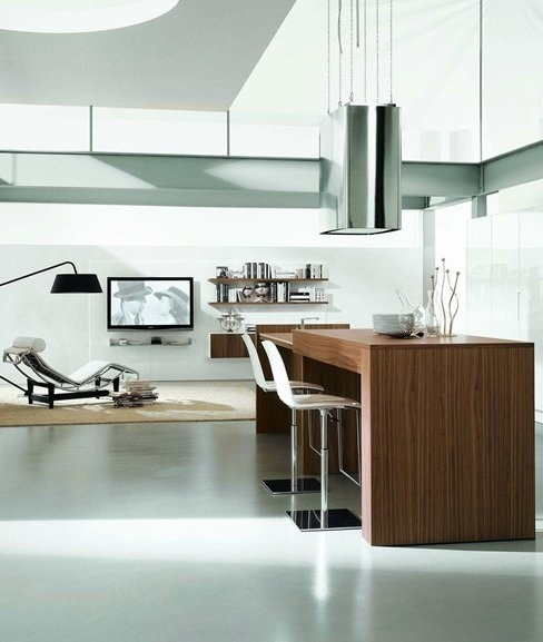 justthedesign:  Contempora Kitchen by Aster Cucine
