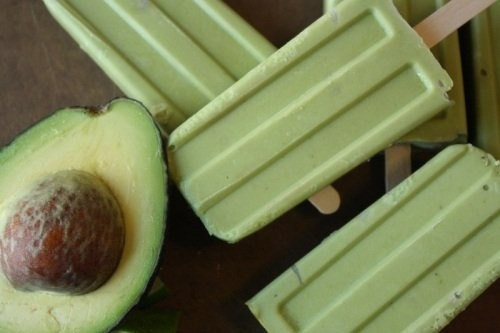 vegnews:  Too early for margaritas? Maybe. But probably not for these Avocado Lime Tequila Popsicles. Click here to find out how to make 'em.