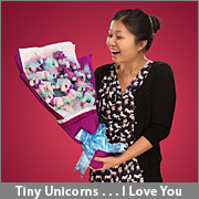 (via ThinkGeek :: Plush Unicorn Bouquet)