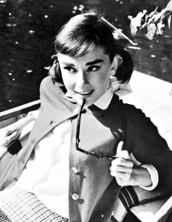 Audrey Hepburn in Love in the Afternoon, 1957