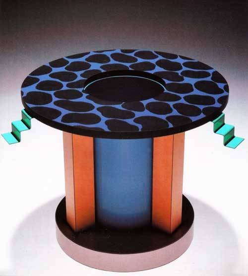 aqqindex:  George Sowden, Plymtree Vase, for Objects for the Electronic Age, 1983