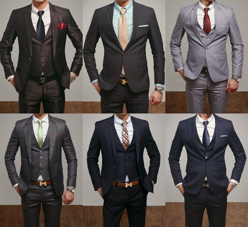 yes, men in suits. 👌