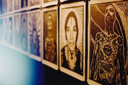 Woodcut Portraits. by Hello i'm Wild ! on Flickr.