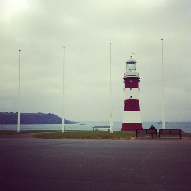 I've missed this #plymouth #hoe #lighthouse