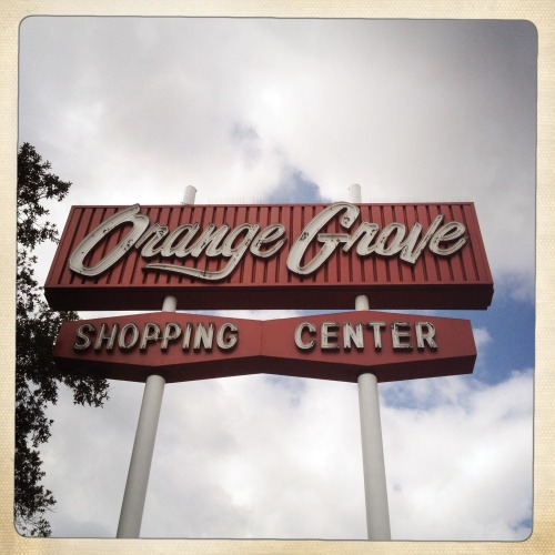 """Orange Grove Shopping Center"" (photo by Nick 13)"