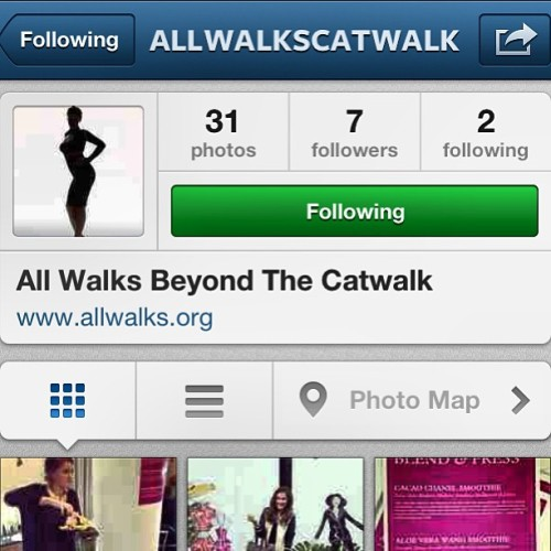 The amazing, wonderful, award-winning @allwalkscatwalk is now on Instagram! Bringing you all the best pics of diverse, inclusive fashion from LFW & beyond! #LFW #fashion #beauty #LFW13 #diversity @nikibest @ybdfashion @acontinuouslean @baddiebey @calivintage @cavacharlotte