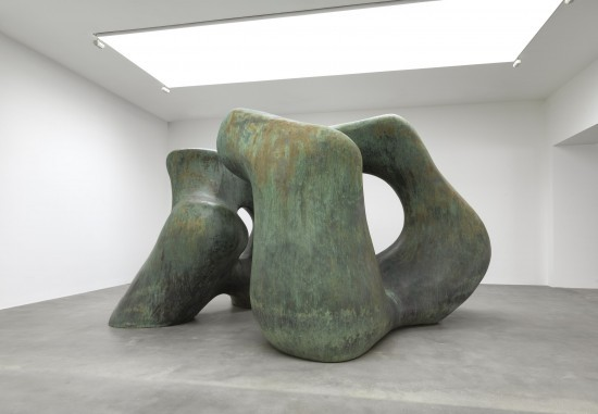 henry moore: large late forms at gagosian gallery, london