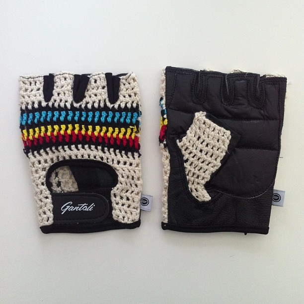 Gorgeous pair of leather 003 gloves just arrived from @gantoli!