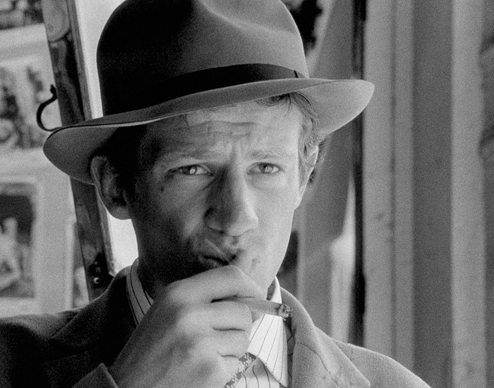 "Jean Paul Belmondo en ""Al final de la escapada"", 1960"