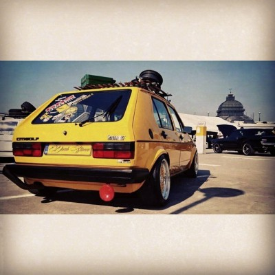 What you know bout the rabbit tho😍 #vdub #rabbit #vw #lowlife #sexy #mk1