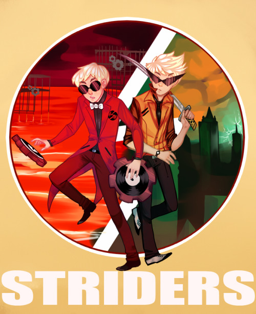 My friend asked me to draw her a strider pic for her iphone cover. Finally got it done :I