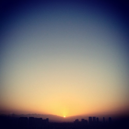 #good #morning again #LA #losangeles #california #ca #sunrise #sky #cityscape #city #iphoneography
