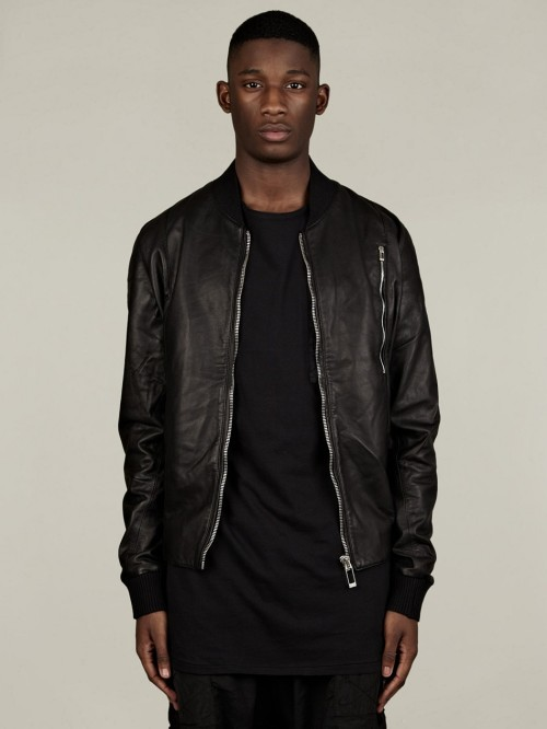 dejne:  SILENT BY DAMIR DOMA MEN'S JESVE LEATHER BOMBER JACKET www.oki-ni.com