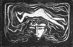 venusmilk:  Edvard Munch Untitled (Source)