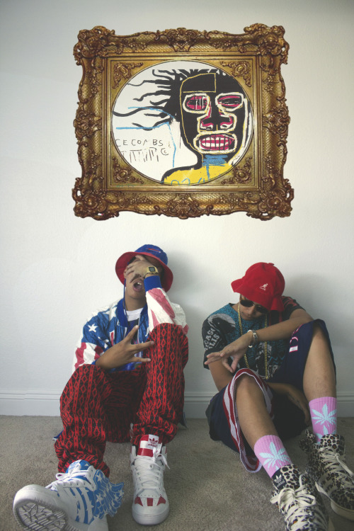 "johnnylace:  ""Basquiat"" Clones flow. Make sure to follow me on instagram @Johnnylace"