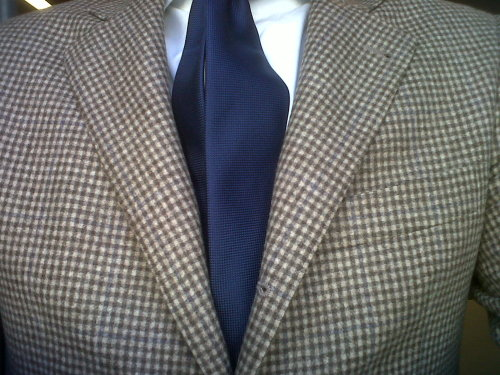 Yes, no pocket square II.