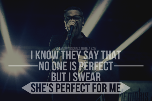 music-heals-my-scars:  & you're perfect for her :) … Memphis May Fire