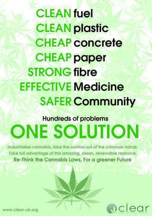 eclecticreality:  The Hemp solution