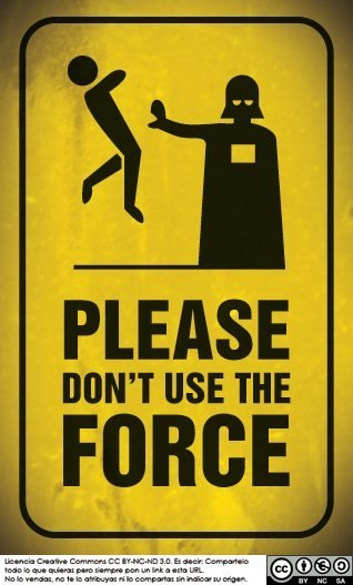 fuckyeahdarthvaderlol:  Please Don't Use the Force