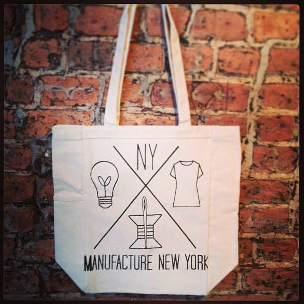 Want one? Donate to the #manufactureny #indiegogo campaign launching tomorrow! #totesamaze #instagram #instagood
