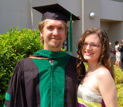 Announcing Dr. and Mrs. Hubs, M.D., Ph.D.  Feeling proud, happy, relieved, proud, excited, and maybe a little proud, too.  WE MADE IT!!