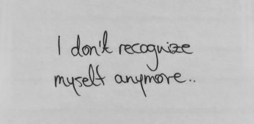#hate myself