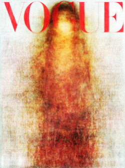 likeafieldmouse:  Shrubrub - Vogue on Vogue on Vogue Etc (2010) - Every cover of Vogue from 2010 superimposed