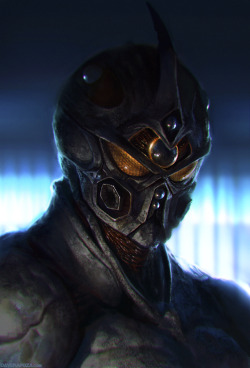 Guyver by ~DavidRapozaArt —-x—- More: | David Rapoza | Random |