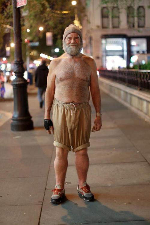 "humansofnewyork:  ""You look kinda like Ernest Hemingway.""""And we're both from Key West.""""You're from Key West?""""Well, I used to smuggle coke out of there."""
