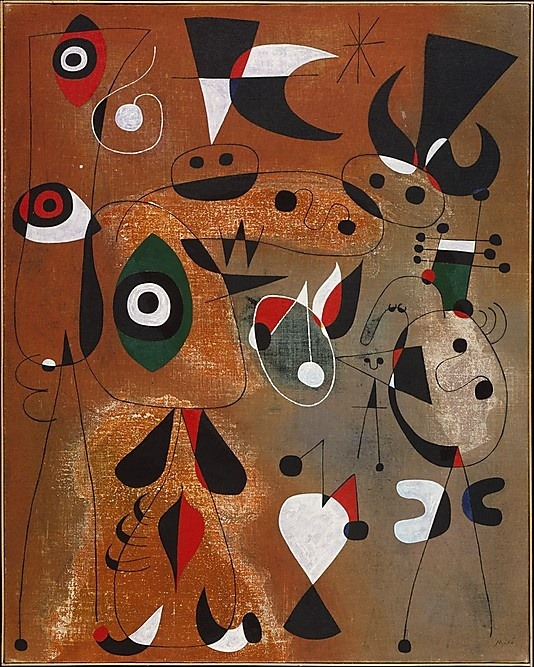 sashastergiou:  Women, Birds, and a Star, 1949 / Joan Miró